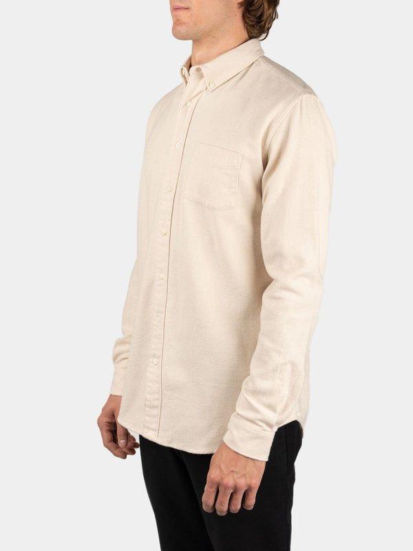 Schnayderman's Shirt BD Twill Flannel - Cream