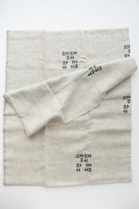 CELINA MANCURTI Indian Linen Blanket