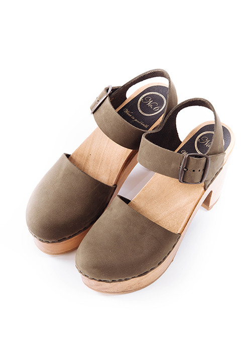 No. 6 Jane Clog in Storm