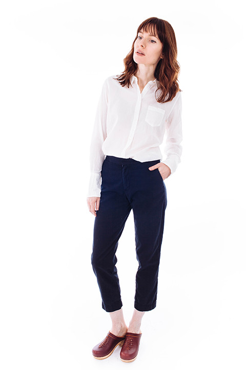 esby Relaxed Pant in Black