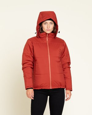 Baro The Station W Puffer Coat - Red