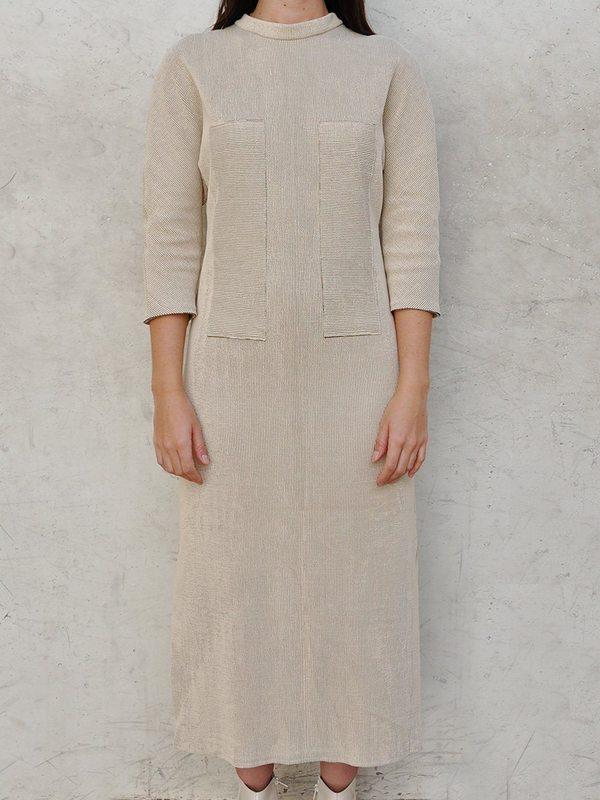This Woman's Work Rib Knit Applique Dress