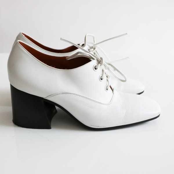 Pre-loved] Celine Lace-Up Shoes