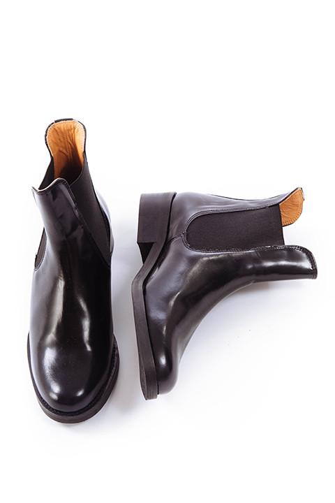 Ganni Sue Shine Boot in Black