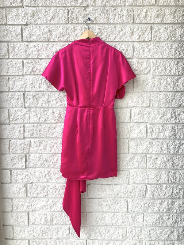 acler LOCHNER DRESS - Fuschia