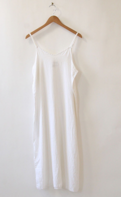 White Linen Dress by Namesake Vintage