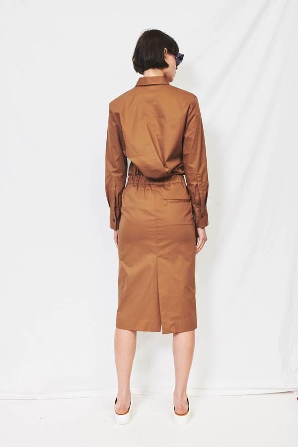 Assembly Twill Pocket Skirt - Mocha