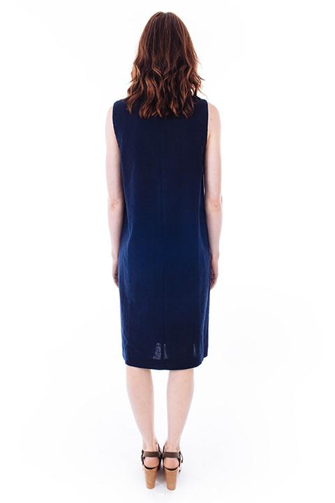 Ganni Yoshe Dress in Iris