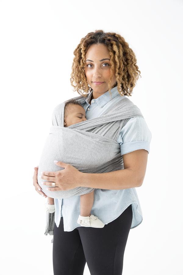 Solly Baby Wrap Heather Grey On Garmentory