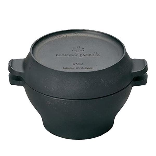Snow Peak Micro Pot - Cast Iron