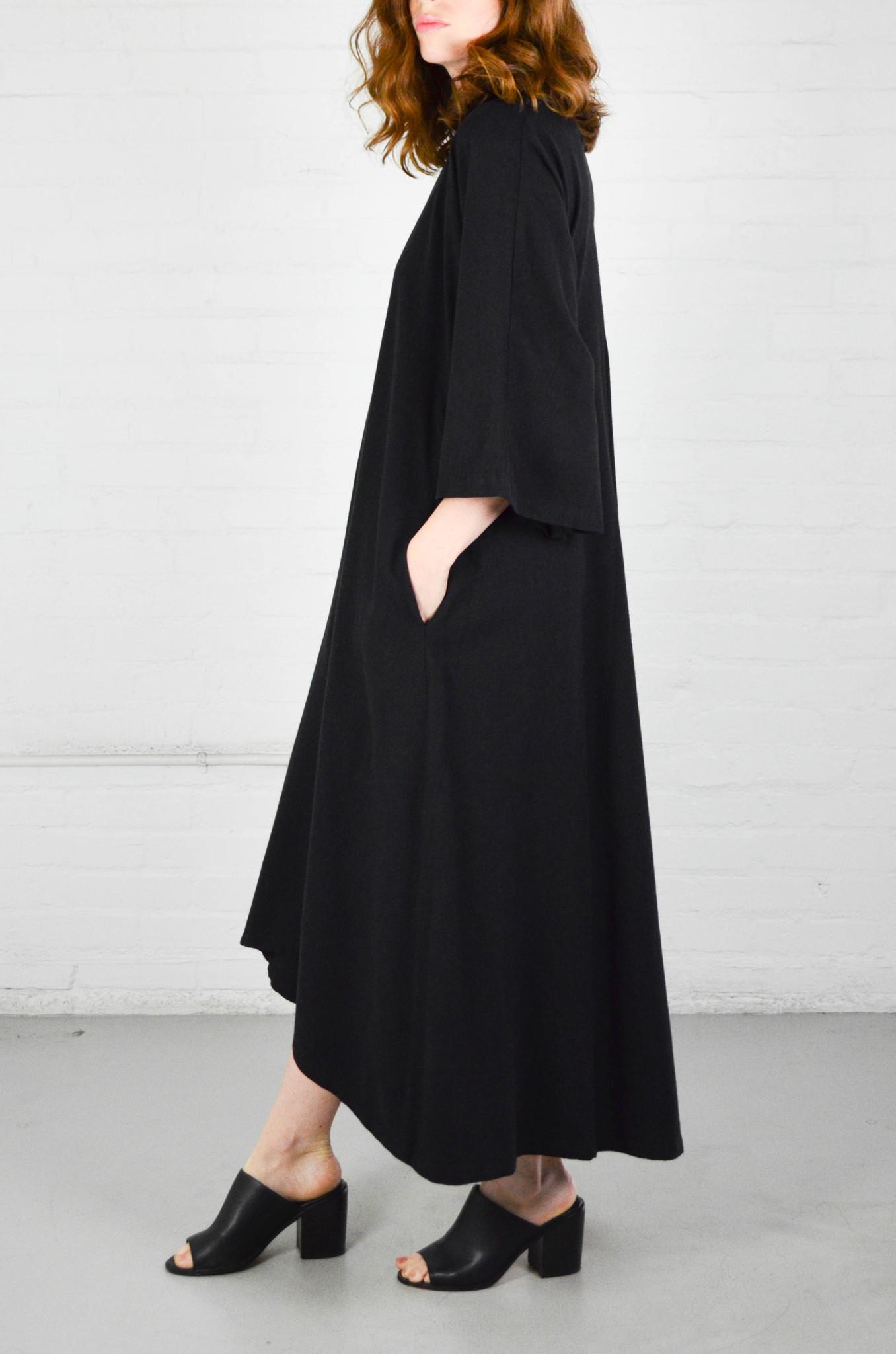 Black Crane Black Origami Dress Garmentory
