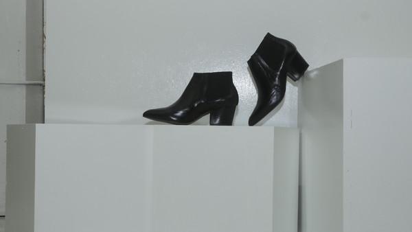 CROSSWALK SHOES POP UP SUNSET (2661) Black Leather