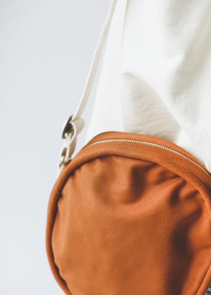 Lotfi Canteen Bag in Rust