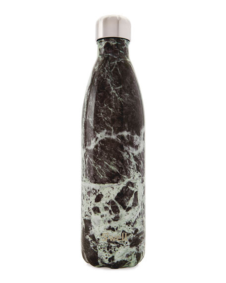 Large Water Bottle - Baltic Green Marble