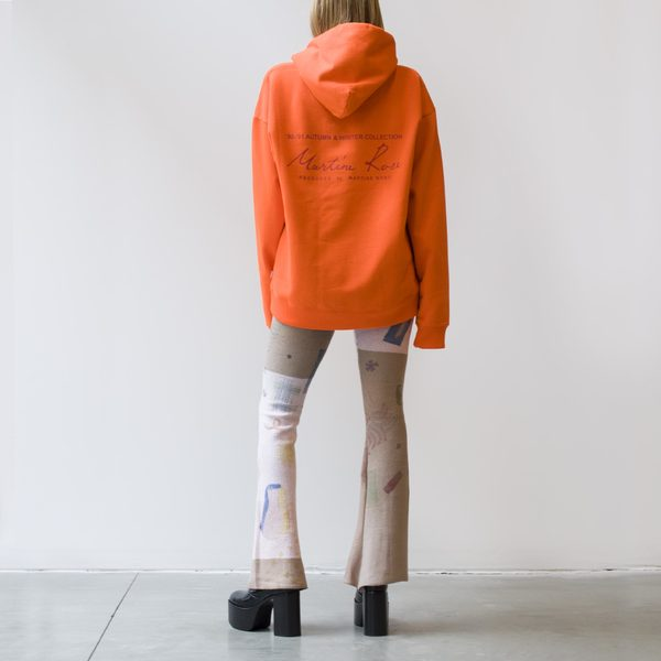 Martine Rose Classic Hoodie - Fluoro Orange