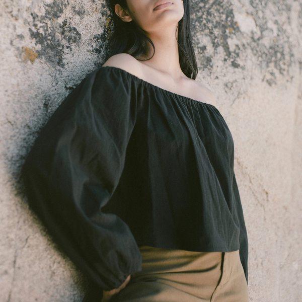 Ozma Lucie Top - Black