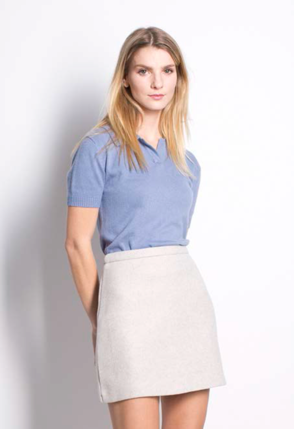 Six Crisp Days Kalisz Skirt - Tan