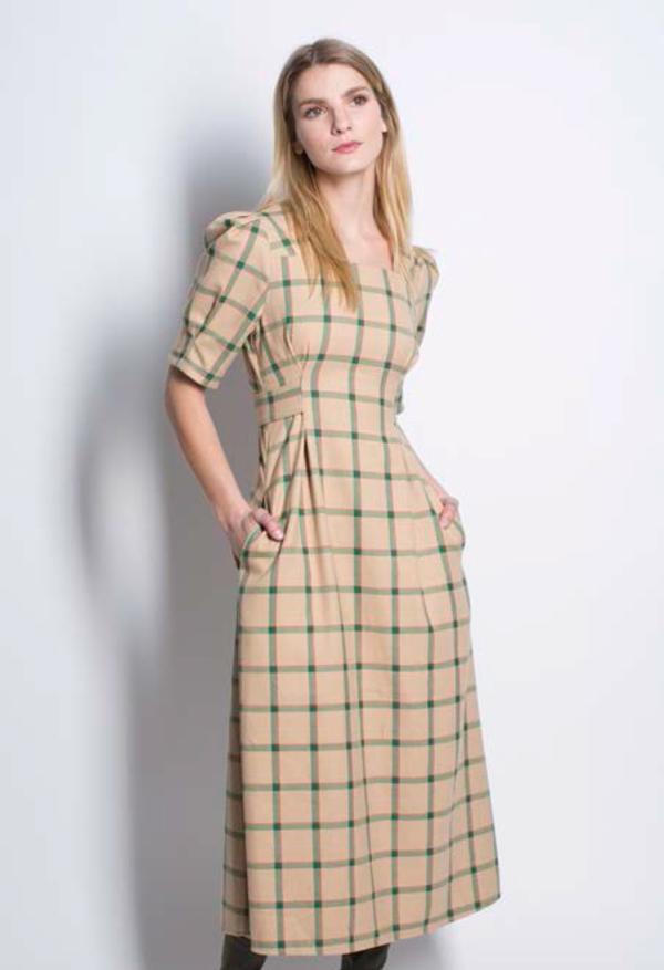 Six Crisp Days Nowe Dress - green