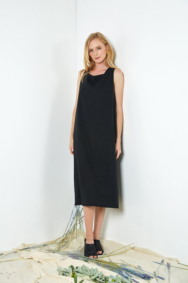 Six Crisp Days Solola Dress - Black