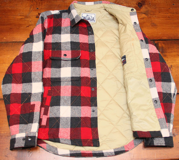 Woolrich Quilted Mill Shirt Jacket Garmentory