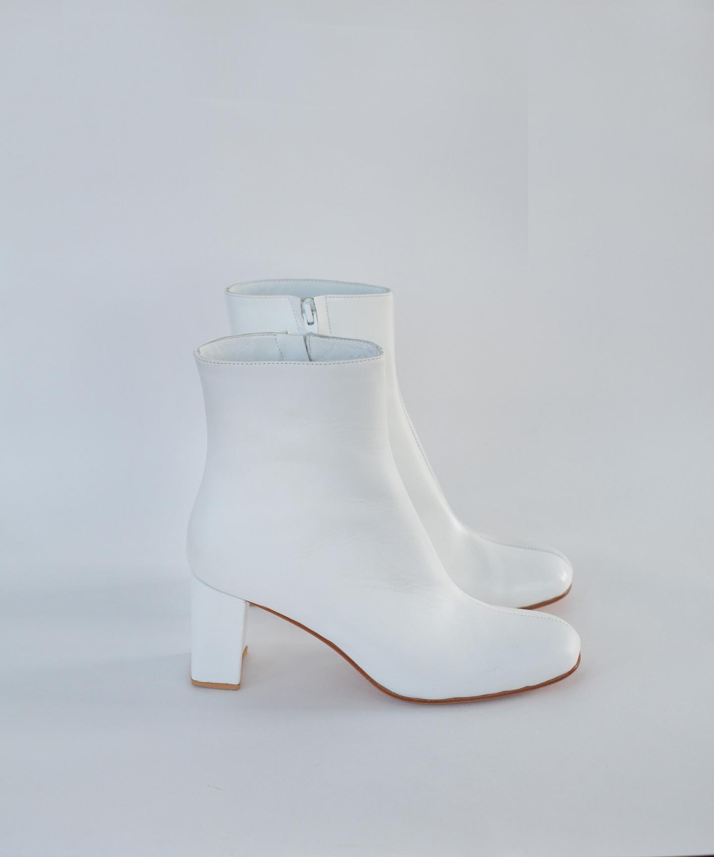 Maryam Nassir Zadeh White Calf / White