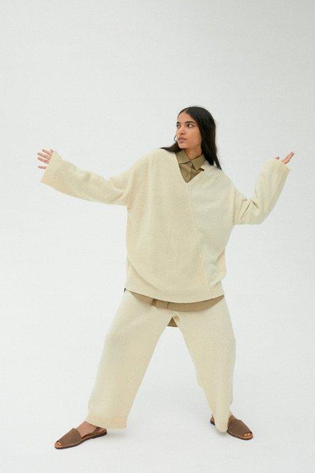 Monica Cordera Baby Yak Sweater - Natural