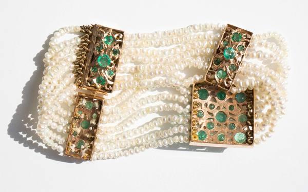 Kindred Black Duplessis Bracelet - 14k Gold