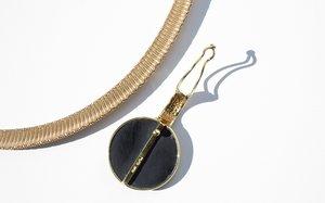 Kindred Black Helier Necklace - 14k Gold