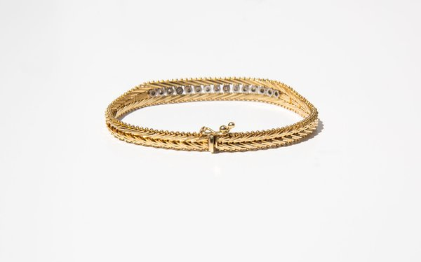 Kindred Black Lowes Bracelet - 14k Gold