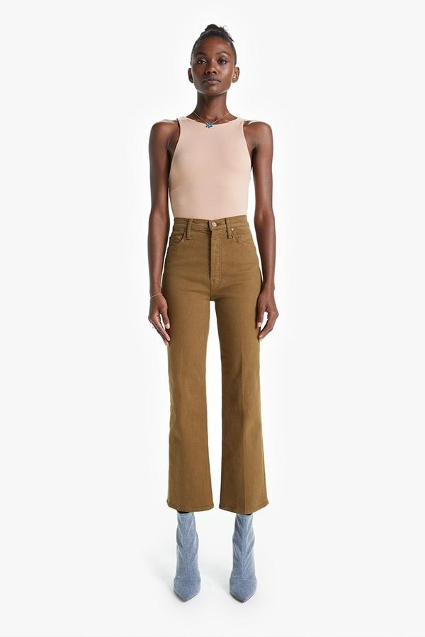 Mother Denim The Tripper Butternut Jeans - Butternut Brown