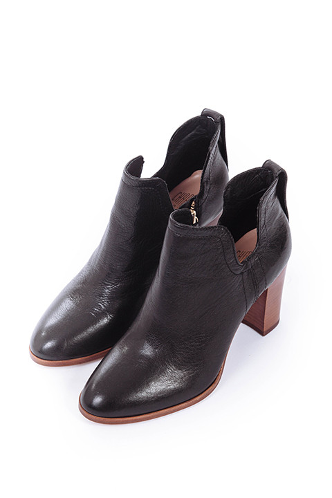 Charlotte Stone Cleo Booties in Black