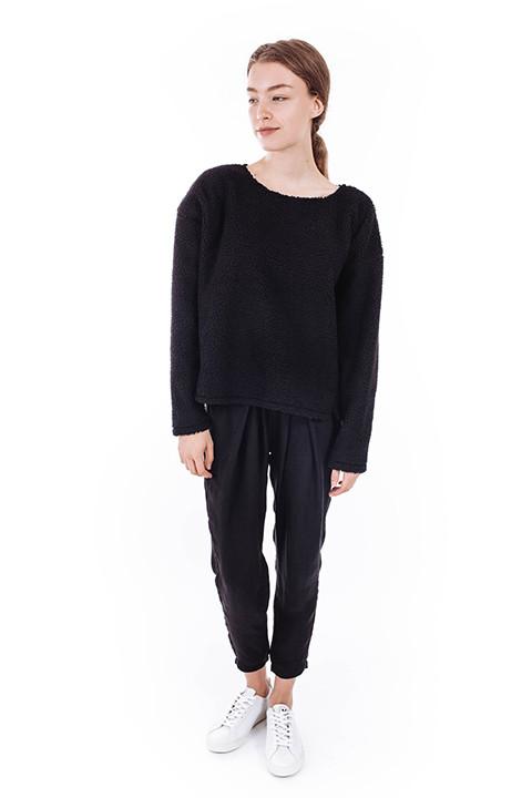 Priory Suma Sweater in Black