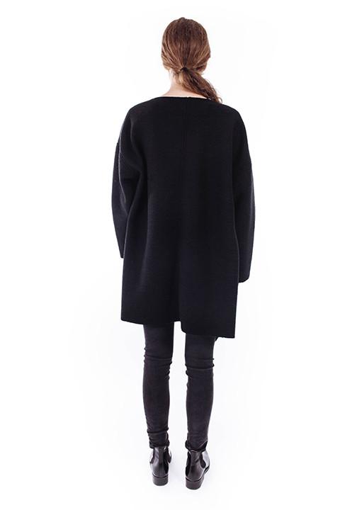 Priory Ura Coat in Black