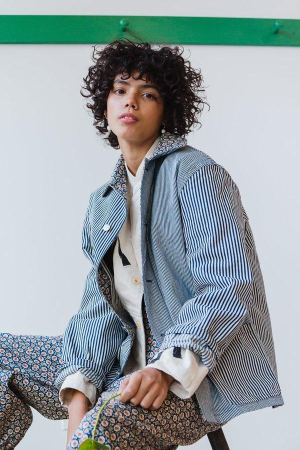 Caron Callahan Krasner Jacket - Engineer Stripe