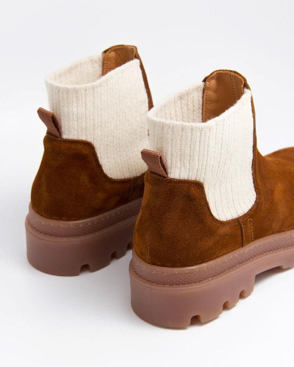 Naguisa Mallo Boot - Brown