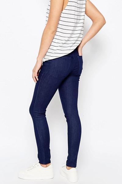 WAVEN Freya Skinny Jeans-True Blue