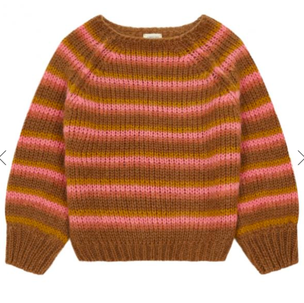 Kids Long Live the Queen Striped Sweater
