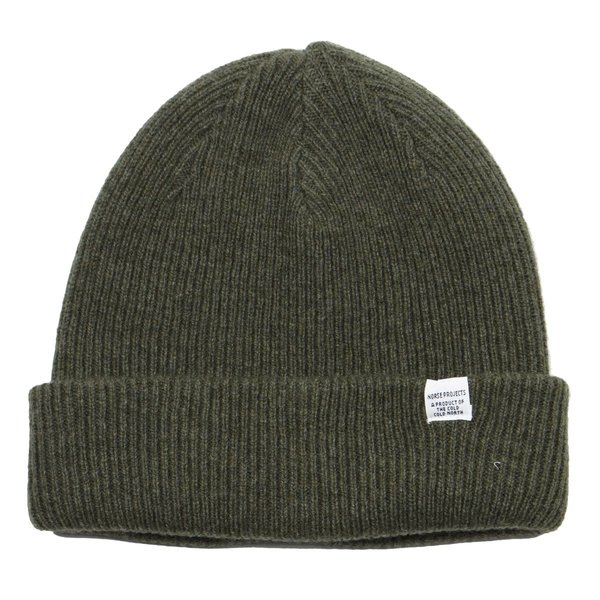 Norse Projects Norse Beanie - Ivy Green