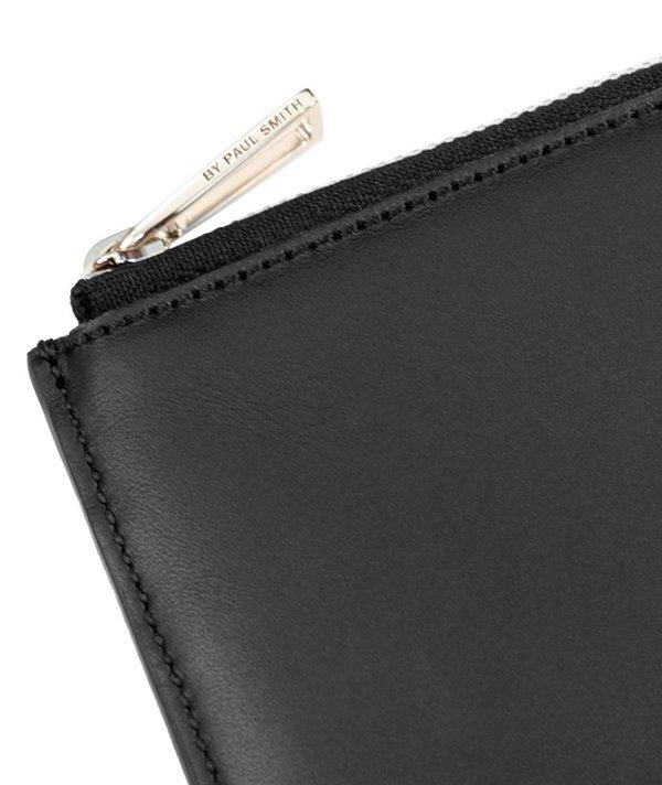 Paul Smith Corner Zip Wallet - Black