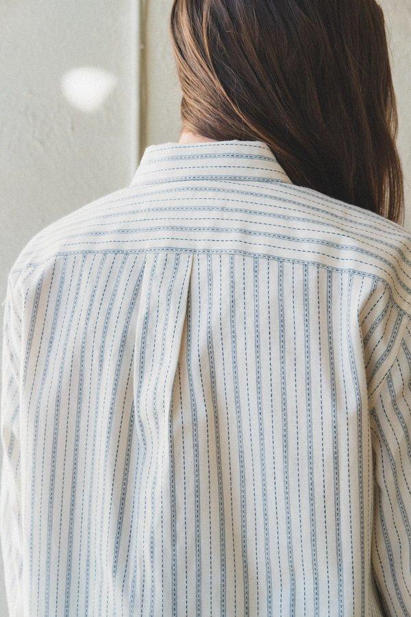 Caron Callahan Alice Shirt - Ticker Stripe