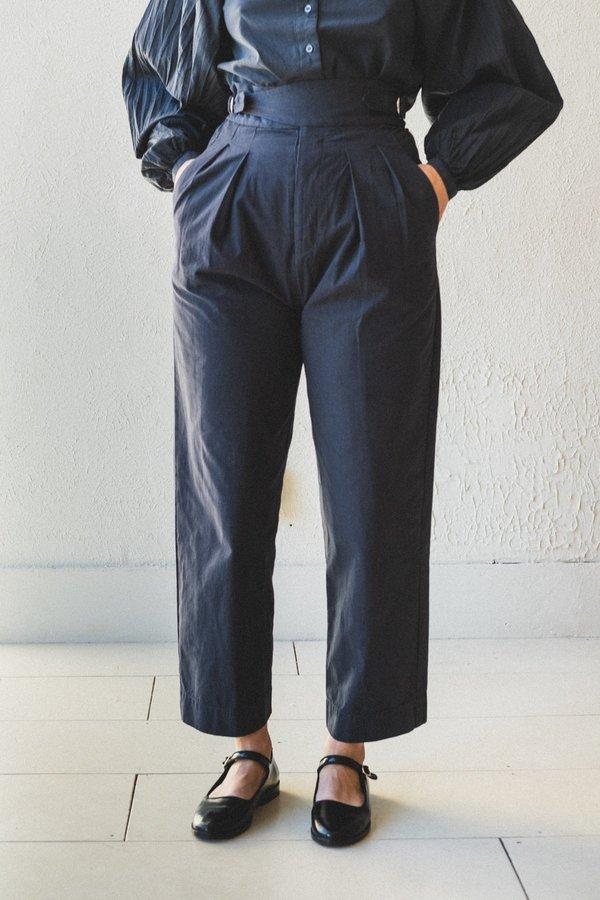 Caron Callahan Nikki Cotton Pant - Charcoal