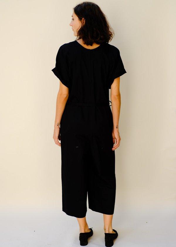 Combine de Filles L'Origami Jumpsuit - Noir