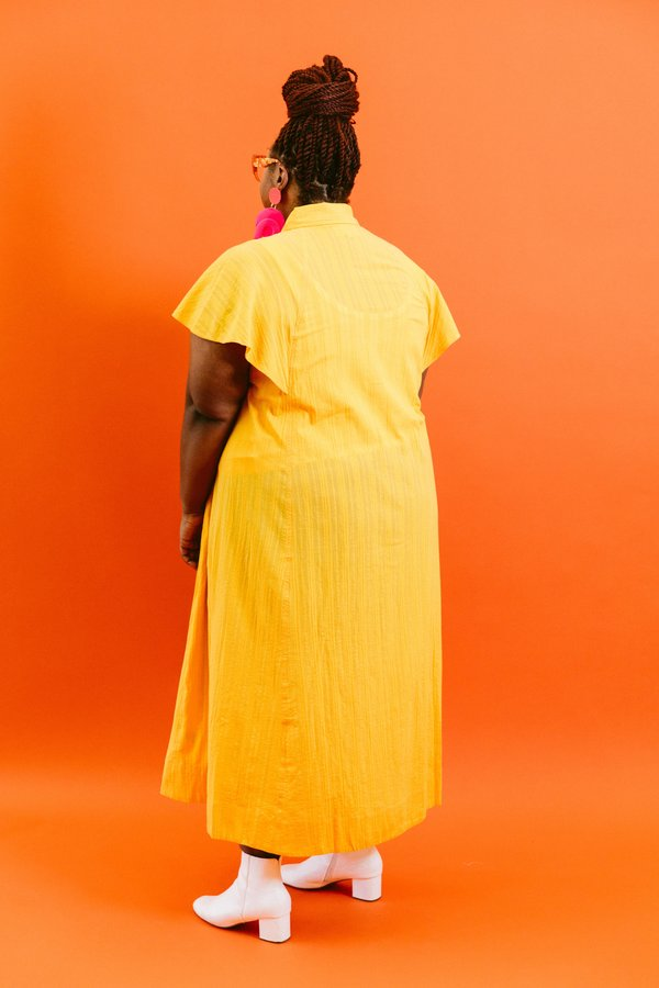 Mara Hoffman Aimilios Dress - Saffron