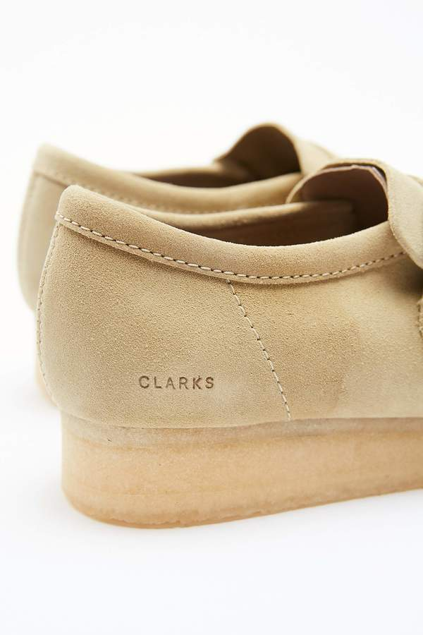 Clarks Wallabee Monk - Maple Suede