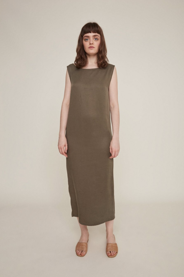 Rita Row Julia Dress - Khaki