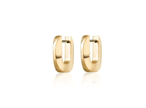Jenny Bird teeni toni huggies - 14K gold-dipped brass