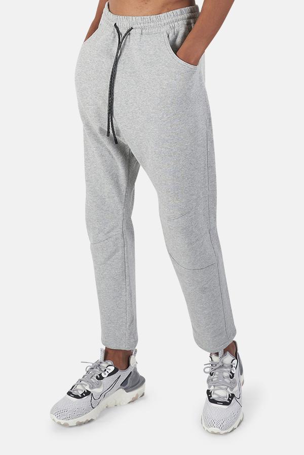 Pierre Balmain Drop Crotch Sweatpant - Light Grey