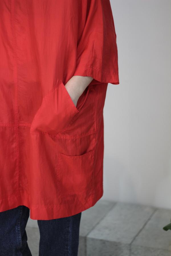 Hey Jude Vintage Minimal Silk Tunic