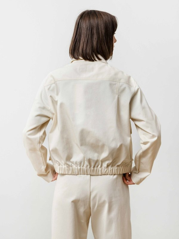 Clutch Jacket - Canvas Natural