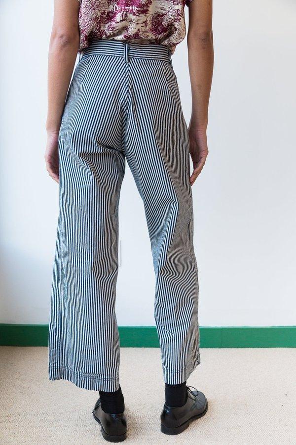 Caron Callahan Stewart Pant - Engineer Stripe